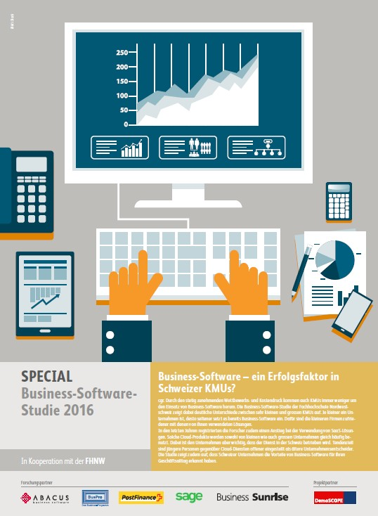 Business Software Studie 2016 der FHNW