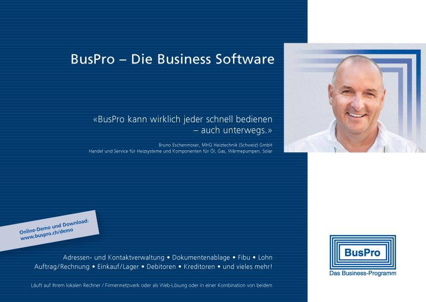 BusPro Produktbroschüre 2017