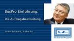 BusPro Auftrag - Einführungsvideo